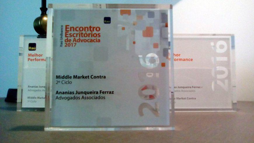 Encontro Escritórios de Advocacia 2017 – Prêmio: Middle Market Contra2º Ciclo