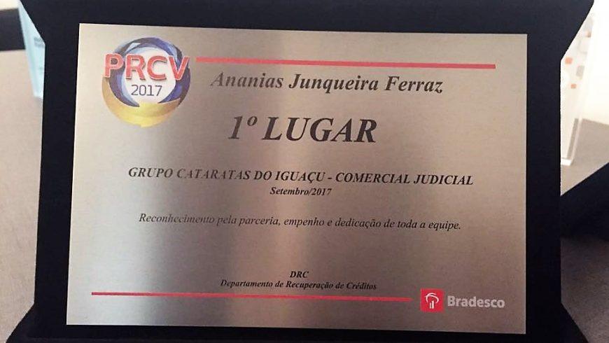 Premiação PRCV (Programa de Recuperação de Créditos Vencidos)